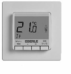 eberle up raumthermostat raumtemperaturregler fit 3r wei fu bodenheizung ebay. Black Bedroom Furniture Sets. Home Design Ideas