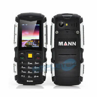 Mann Zug S Black/silver Mobile Phone Resistant Water Use In Barca Military Bike