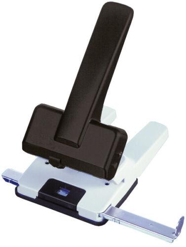 Büroring Registraturlocher schwarz-grau mit Anschlagschiene ... Stanzleistung