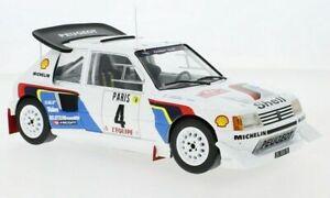 Peugeot 205 T16 #4 Kankkunen/Piironen Monte Carlo 1986 - 1:18 IXO