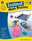 Instant Math Practice Grade 4 by Damon James (Paperback / softback, 2013)