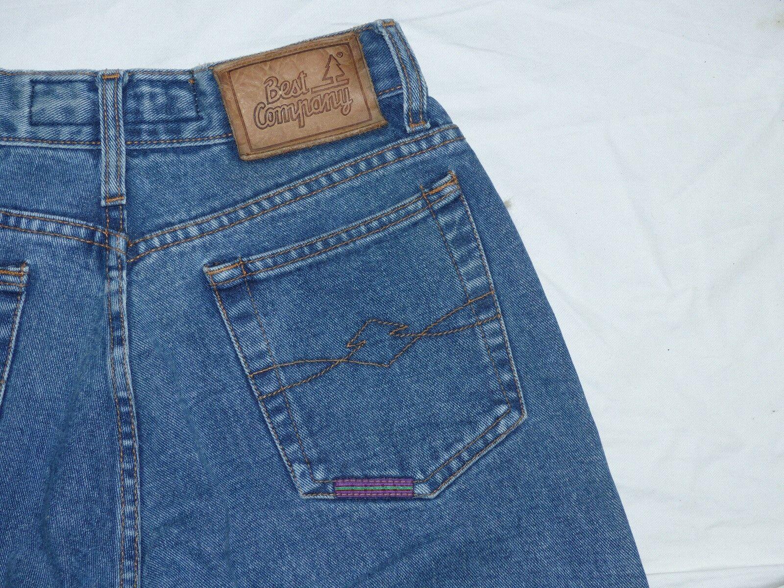 BEST COMPANY jeans pantaloni  OLMES CARRETTI  VINTAGE  Oldschool  blu  Gr  30tip Top