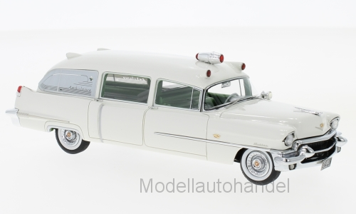 Cadillac Miller Ambulance 1956 BIANCO 1:43 Neo Scale Models 46956 * NEW *