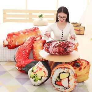 Funny 3D Food  Creative Simulation Ribs Pillow Office Sofa Home Evil Plush Toys