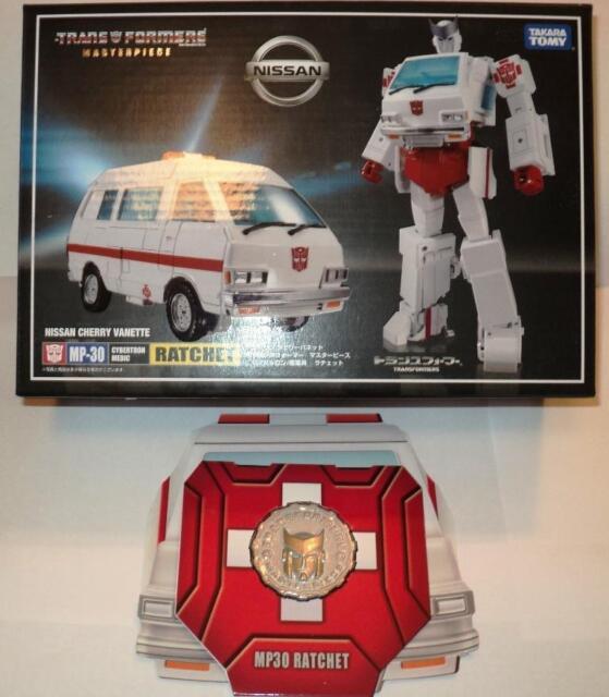 Exclusvie Coin for Takara Tomy Transformers Masterpiece MP-30 RATCHET g1 autobot