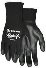 Ninja Nylon/spandex Shell Gloves With Bi Polymer Dipped Palm Fingertips