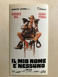 Film-fanartikel Poster Plakat Aufkleber Sticker 1978 Terence Hill Fonda Il Mio Nome E' Nessuno