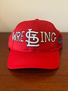 Hand-embroidered-St-Louis-Cardinals-034-WRESTLING-034-hat