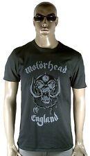 AMPLIFIED MOTÖRHEAD Skull ENGLAND Heavy Metal Rock Star Vintage T-Shirt g.M 48