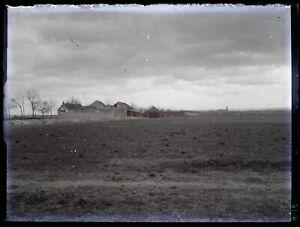 Francia Foto Un Militaire Casa Negativo PL58L19n4 Placca Lente c1915