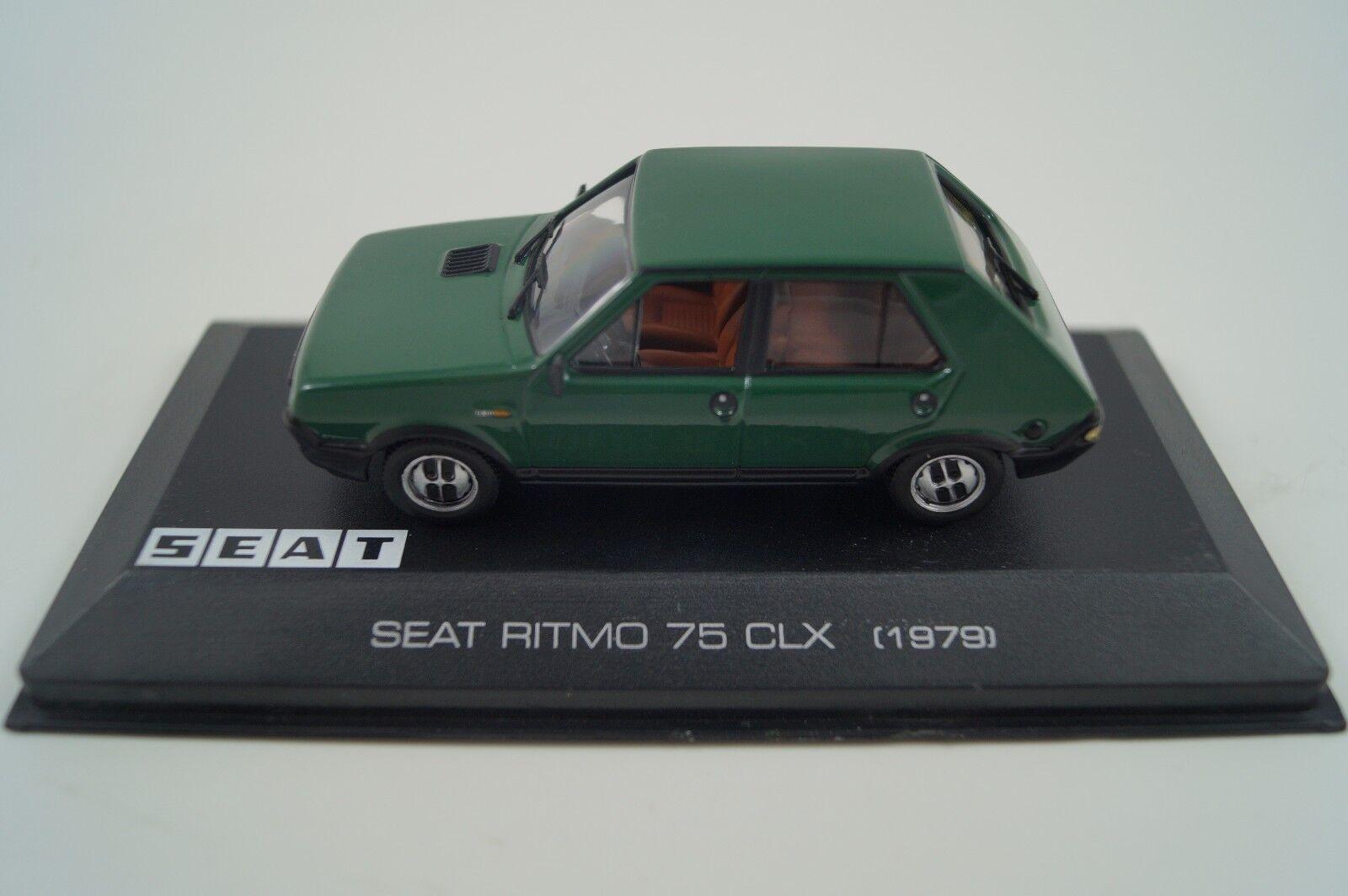 Maqueta de coche 1 43 seat seat seat Collection SEAT Ritmo CLX 75 1979 57c24a