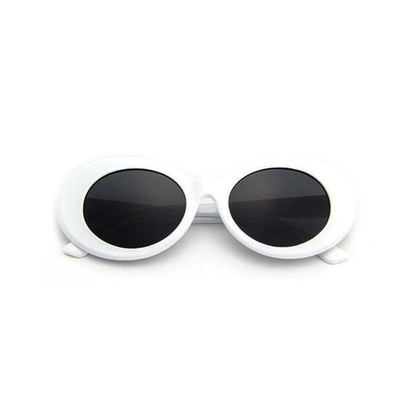 d461dcb7211a White Clout Goggles Clout Rapper Hypebeast Cool Migos Yachty Glasses Kurt  Cobain for sale online