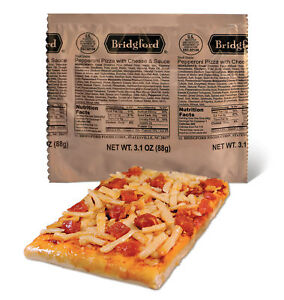 NEW-6-2018-Bridgford-034-Ready-to-Eat-034-MRE-Pepperoni-Pizza-with-Cheese-amp-Sauce
