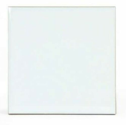"4.25/"" x 4.25/"" Sublimation Ceramic Tiles Four Glossy White 4"