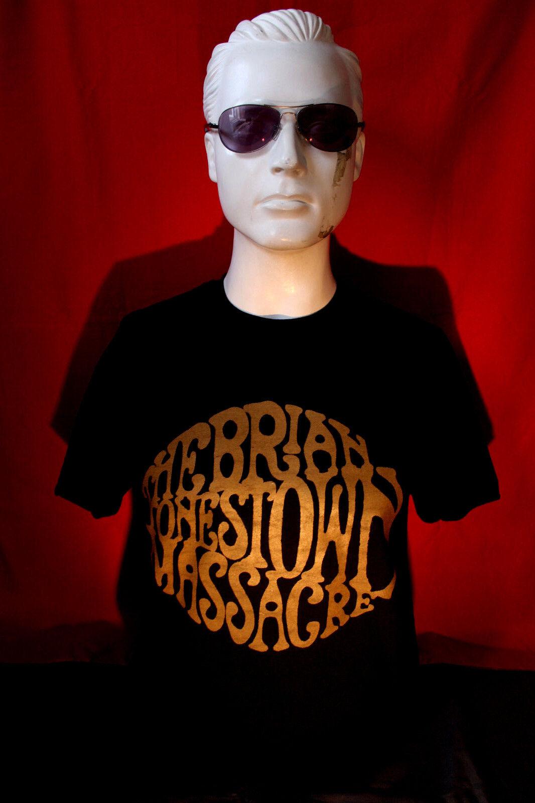 The Brian Jonestown Massacre Boys Fashion Classic Long Sleeve T-Shirt Boy Long Sleeve Cotton Round Neck T-Shirt