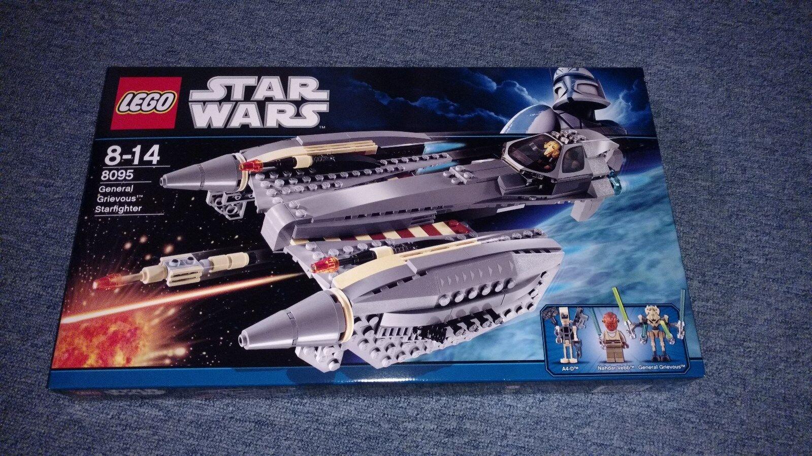LEGO® Star Wars™ 8095 - General Grievous™ Starfighter - Neu&OVP (MISB)