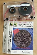 MORBID ANGEL - Altars of Madness MC 1990 RARE 1'ST POLISH PRESS Baron