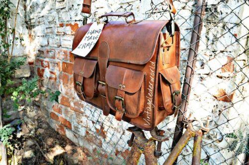 Men Leather Briefcase Shoulder Bag Casual Business Handbag Tote Messenger 2019