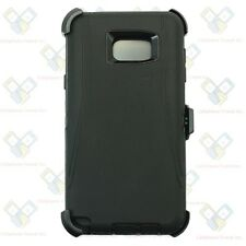 Black New for Samsung Galaxy Note 5 Defender Case w/Belt Clip & Screen Protector