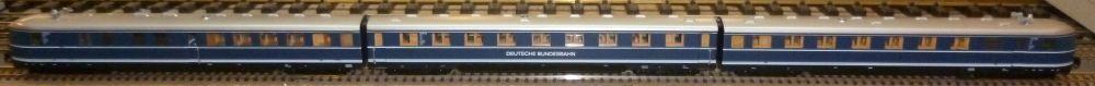 Liliput h0 126032 DIESEL TRIEBZUG VT 06 DB USATO & OVP