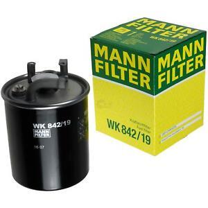 Mann Filtro de combustible parte n/úmero wk842//2