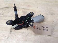 FIAT PUNTO 1.2 8v 2003 POSTERIORE WIPER MOTOR 66350001
