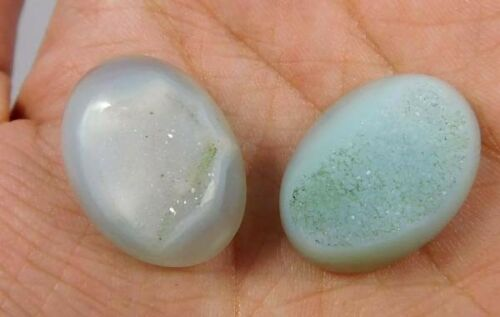 Natural Dyed Multi Druzy Deode Agate Cabochon Gemstone P811-836 Free Shipping