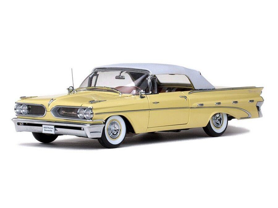 1959 pontiac bonneville palomar gelbe 1,18 sunstar 5191