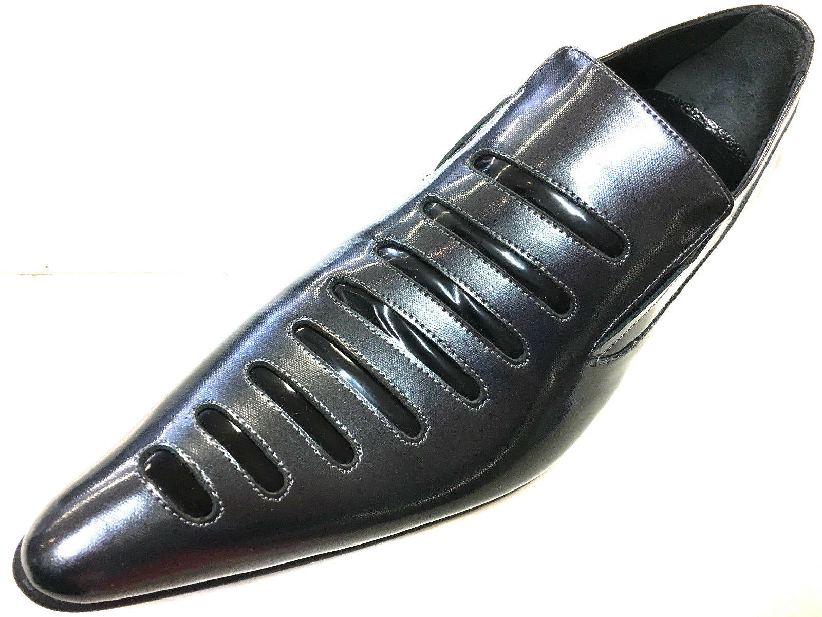 Chelsy insoliti in Pelle Uomo Scarpe Grigio Nero ANTRAZIT Designer Designer Designer Slipper 40 3167a7