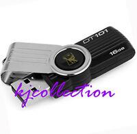Kingston DT101 16GB USB Flash Pen Drive DataTraveler G2 DT 101 16G Black