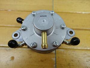 NEW MIKUNI FUEL PUMP DF52 DOUBLE OUTLET RACING KART