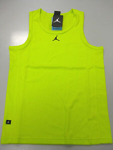 92fca74bcce Image is loading JORDAN-BUZZER-BEATER-TANK-Venom-Green-Black-589114-