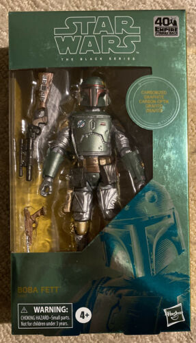 Star Wars The Black Series Carbonized Boba Fett 6-Inch Action Figure NEW IN HAND