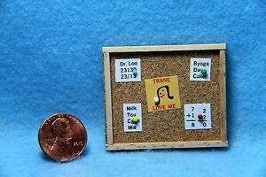 Dollhouse-Miniature-Memo-Board-Cork-Board-IM65296