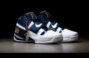 Nike lebron zoom soldato 1 25 direttamente ao2088-400 nuove dimensioni: gli 8 e i 13 uomini