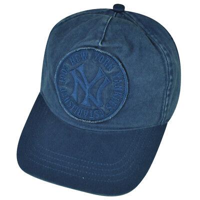 85ddc359a93 MLB American Needle New York Yankees Snapback Est 1903 Hat Cap Blue NY  Sports
