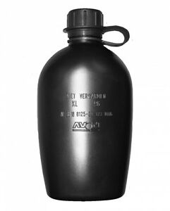 Unissued-Dutch-Army-Avon-Large-Water-Bottle-1ltr-Camping-Hiking-Cadet-Survival