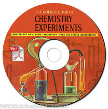 Golden Book of Chemistry Experiments Vintage Manual-Rare-Banned-Textbook-CD-PDF