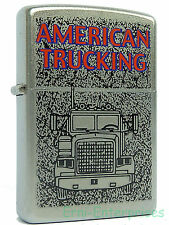 Zippo American Trucking Truck LKW aus 2009 Feuerzeug Neu 220121