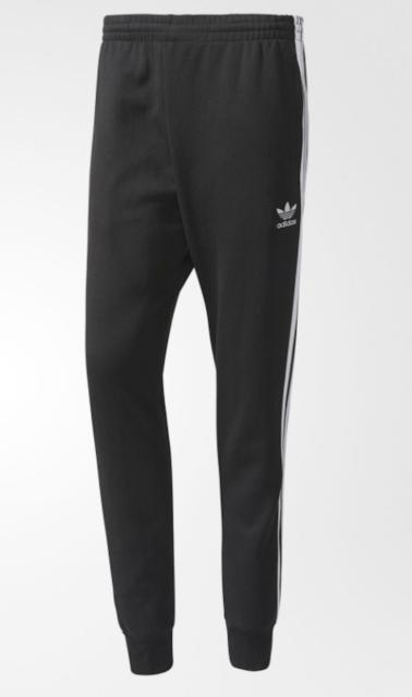 0576e033fd1b adidas Originals Mens Superstar Cuffed Track Pant Black 2xl for sale ...