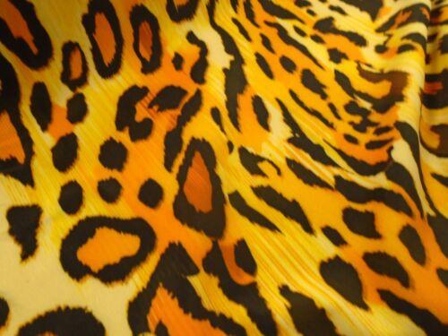 Textura Leopardo Impresas lycra