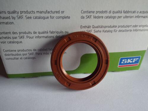30x45x7mm SKF Sello de aceite de eje Viton Doble Labio R23//TC 30x45x7 HMSA 10V