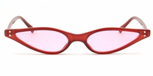 Retro Slim Vintage Cat Eye Small UV400 Women Men Fashion Sunglasses