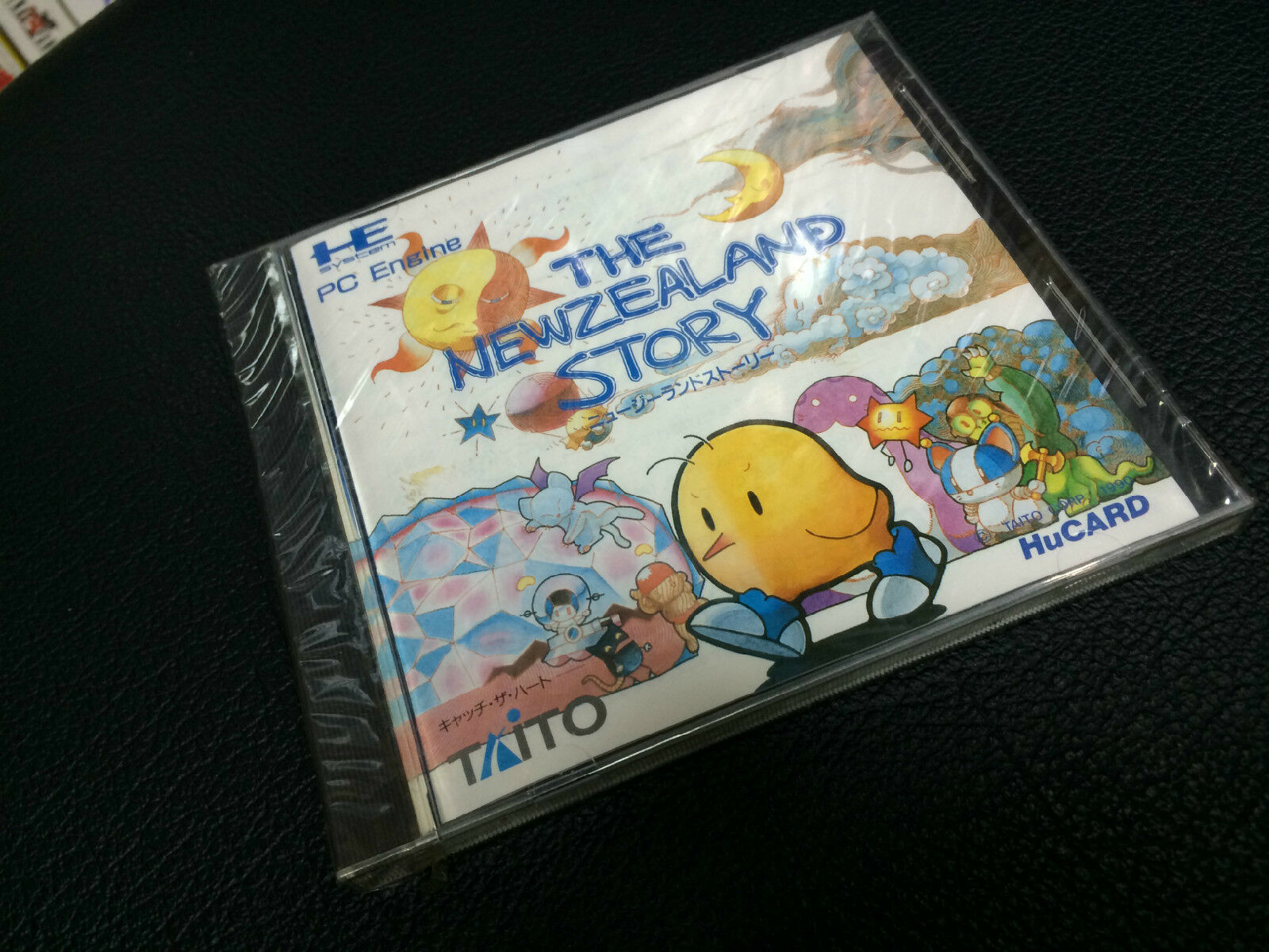 PC engine Japan The Newzealand Story Japan Complete Brand New