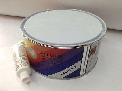 STUCCO con alluminio grana fine 750ml - 1,35kg - ALLUTIX sibren + LAMIERA