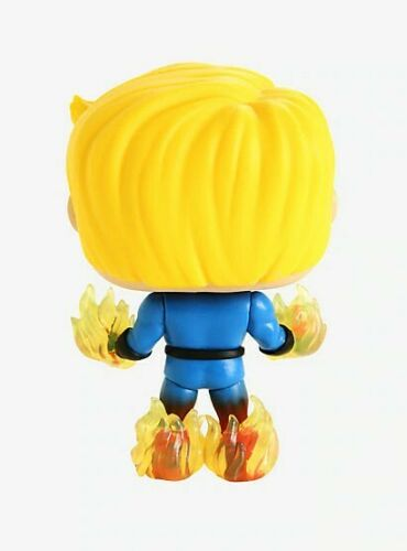 Funko POP Marvel quatre fantastiques torche humaine Hot Topic Exclusive 569