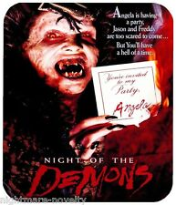 NIGHT OF THE DEMONS MOUSE PAD 1/4 IN. TV HORROR MOVIE MOUSEPAD