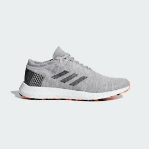 new arrival 577c4 1f268 Image is loading Adidas-Pureboost-Go-AH2324-Running-Shoes-Grey-Black-