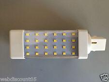 1 x G24 LED maíz Lámpara 2835 Smd Spot downlights Lámpara Iluminación 5w vendedor Reino Unido