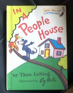In a People House Beginner Series by Sieg Theo Le  Dr Seuss Hardback Book - Gloucester, United Kingdom - In a People House Beginner Series by Sieg Theo Le  Dr Seuss Hardback Book - Gloucester, United Kingdom